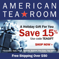 15% Off at American Tea Room. Code: TEAGIFT