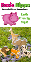 Rosie Hippo-Earth Friendly Wooden Toys
