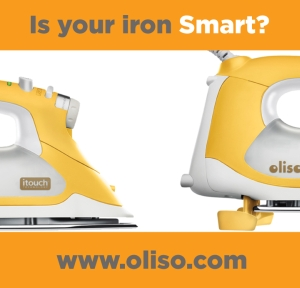 The Oliso Smart Steam Iron