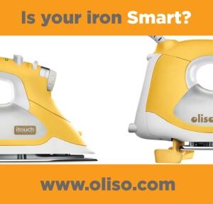 The Oliso Smart Steam Iron
