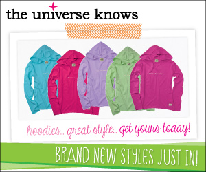 brand new hoodies at the universe knows