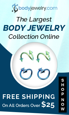 Largest Body Jewelry Collection