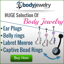 Huge Selection of Body Jewelry