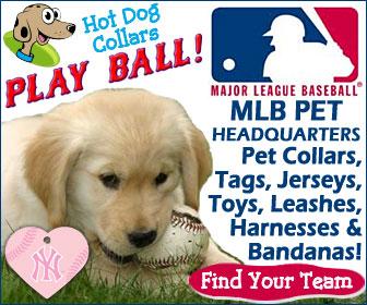 MLB Team Pet Accessories