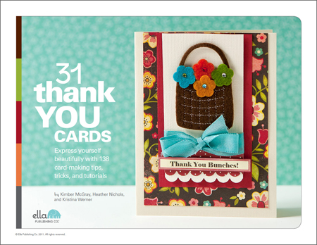 31 Thank You Cards by Kristina Werner, Kimber McGray, and Heather Nichols