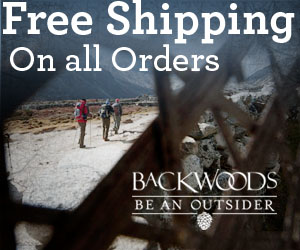 Backwoods | Free Shipping, No Minimum Purchase!
