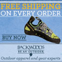 Free Shipping at Backwoods