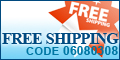 Free Shipping Coupon code 03060308