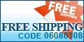 Free Shipping Coupon code 03060308