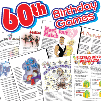 60th Birthday Party Games Pack