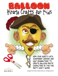 Balloon Pirate Crafts For Kids