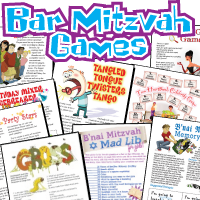 Printable Bar Mitzvah Games Pack