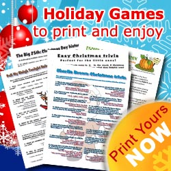 Christmas Games List - Holiday Party Game Ideas