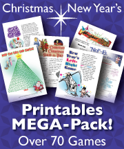 Printable Christmas Games MEGA-Pack of over 70 games and activities