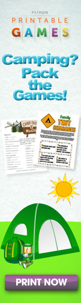 Printable Easter games - print and play