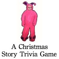 Christmas movie trivia: A Christmas Story trivia game!