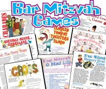 Bar Mitzvah Games Party Bargain Pack