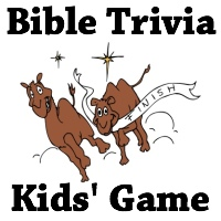 Printable Games - Christmas Bible Trivia for Kids