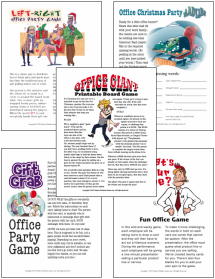Christmas Office Party Games Pack