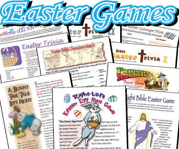 Easter Printables: Easter Games bargain pack
