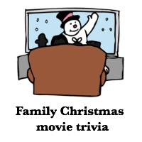 Printable Christmas family trivia movie games