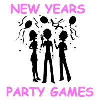 New Years Party Games: trivia, left-right, mad libs