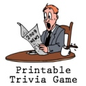 Were YOU paying attention this year? Printable news trivia 2009 game!