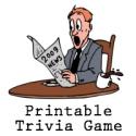 Printable news trivia 2009 game!