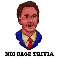 Party trivia fun - Nicolas Cage movie trivia game!
