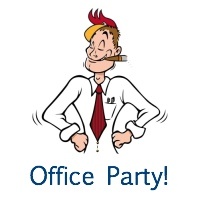 Office Christmas Party games: break the ICE, not the BANK!