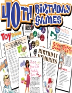 40th Birthday Games Pack