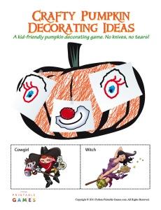 Pumpkin Decorating Game