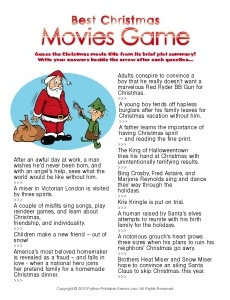 Best Christmas Movies Trivia game