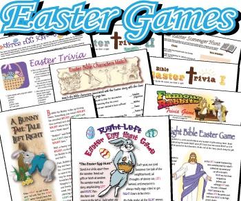 Easter Printables: Easter Games bargain BUN-dle