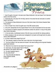 Hawaii Five-O Trivia