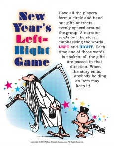 New Year's Left-Right Game