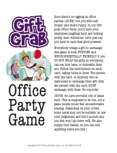 Gift Grab Office Party Gift Exchange Game