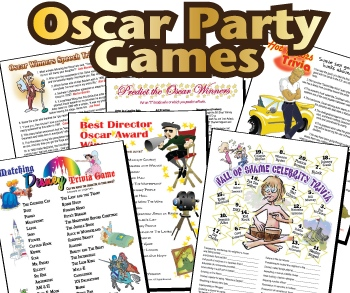 Printable Oscar Games Bargain Bundle