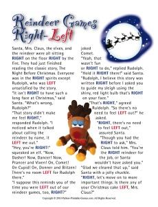 Reindeer Games Left-Right