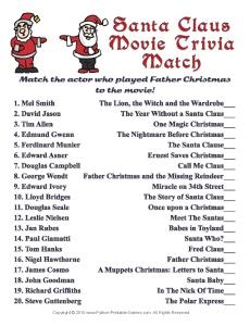 Christmas Trivia Game Clip Art – Cliparts