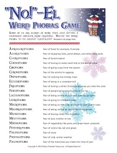 NO!-el Weird Christmas Phobias Game
