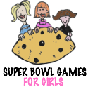 Super Bowl party games, printable party games for girls who hate football!