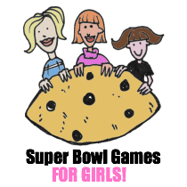 ANTI-Super Bowl party games for girls who hate football!