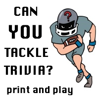 Can YOU tackle trivia? Super Bowl party games