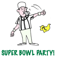 Super Bowl party games for guys AND girls!