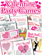 Valentine Party Games Pack. Over 20 printables!