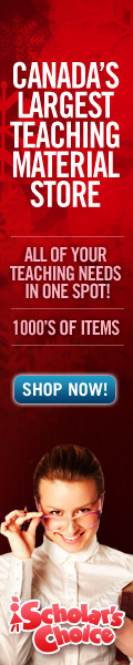 Visit the Scholar's Choice Teachers' Store For Thousands of Great Items