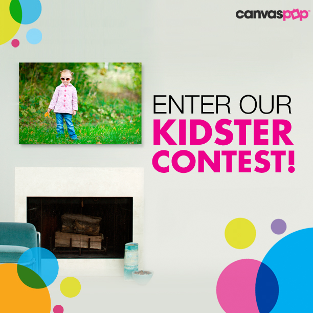 Enter CanvasPop's Kidster Photo Contest!