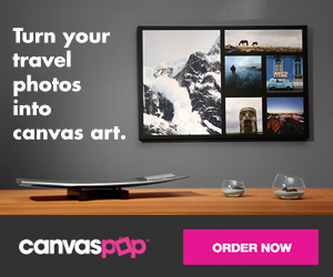 Turn your travel photos into canvas art with CanvasPop. Order now.