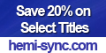 Save 20% on Select Brainwave CDs
